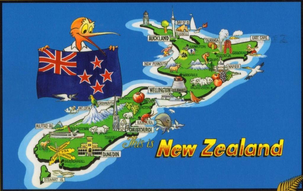 New Zealand towns