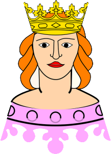 crowned queen