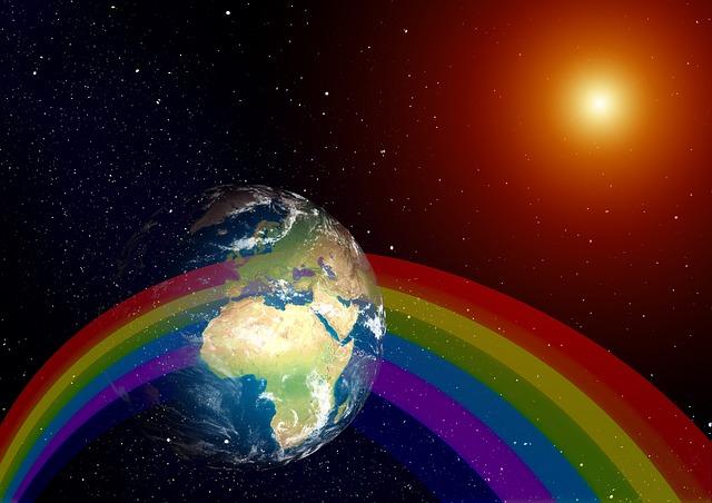 earth sun refraction
