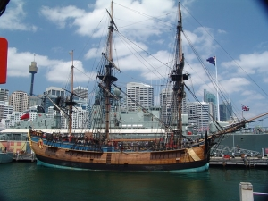 captain cook ship