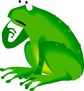 forgetful frog