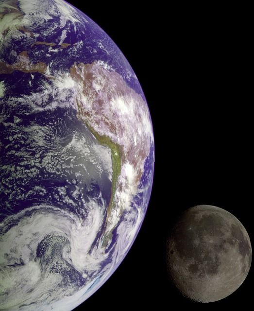 distance from earth to moon