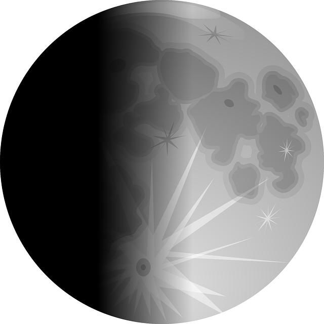 moon sun reflection