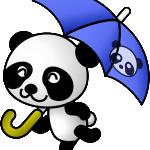 panda umbrella