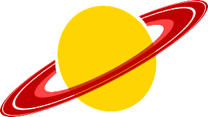 saturn least dense planet