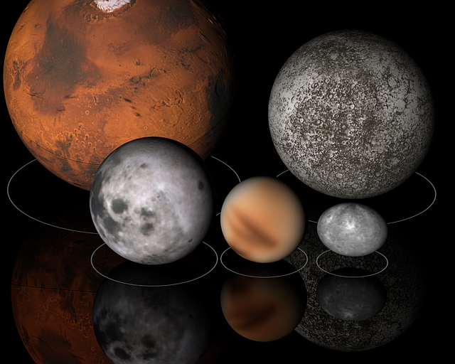 planets grouped together