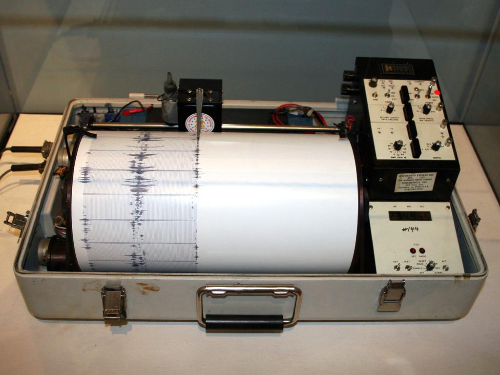 seismograph tsunami warnings