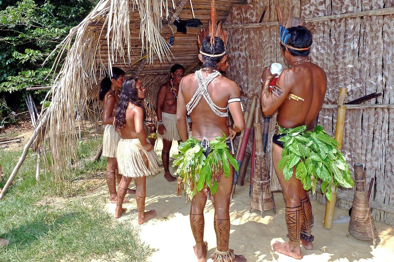 Amazon tribe nudist xxx images
