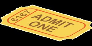 ticket for Titanic
