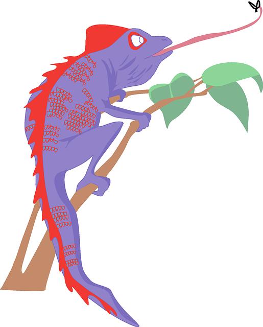 chameleon quick tongue