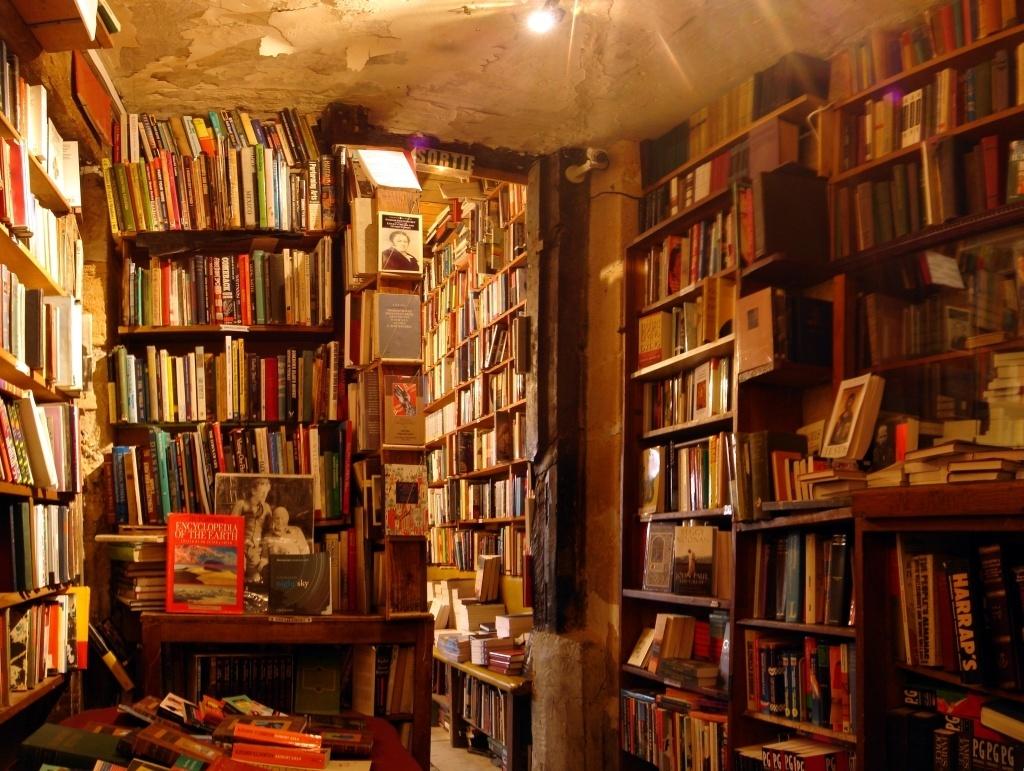 books in bookshop