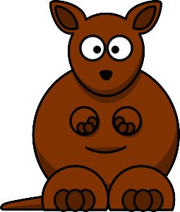 kangaroo cartoon image