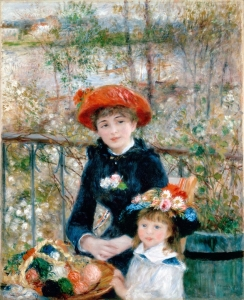 Renoir painting style changed
