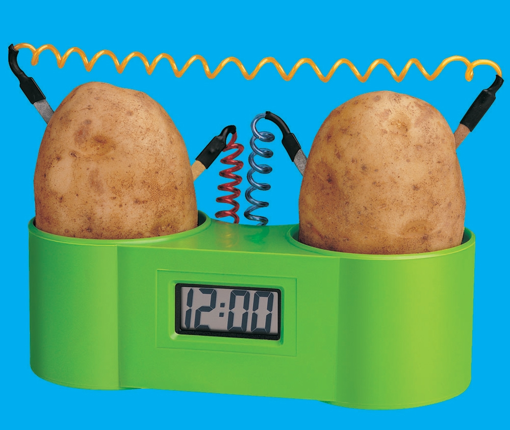 potato-clock