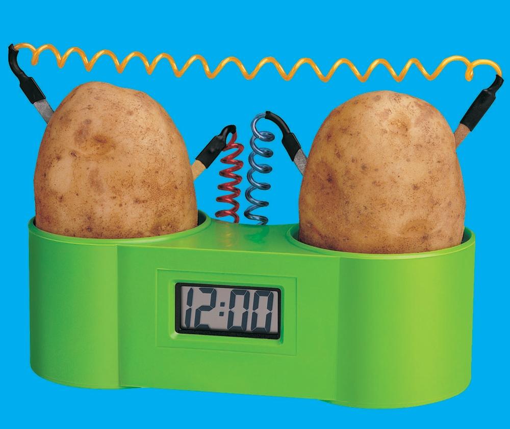 potato-clock