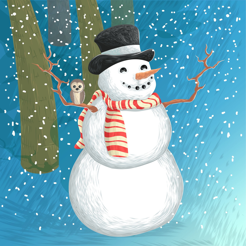 old-snowman