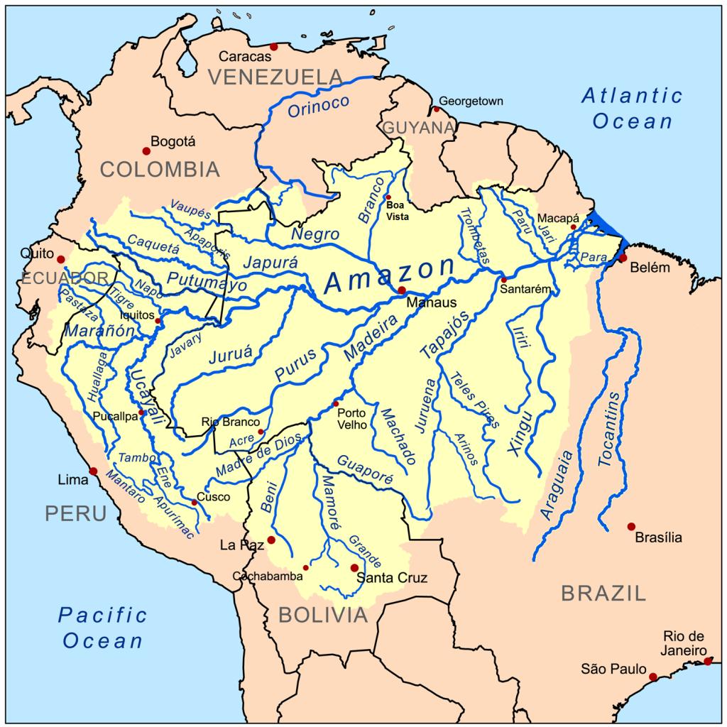 amazon-river-map