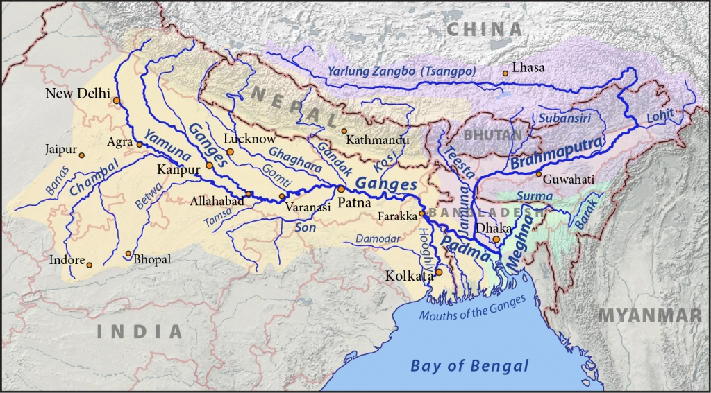 ganges-river-map