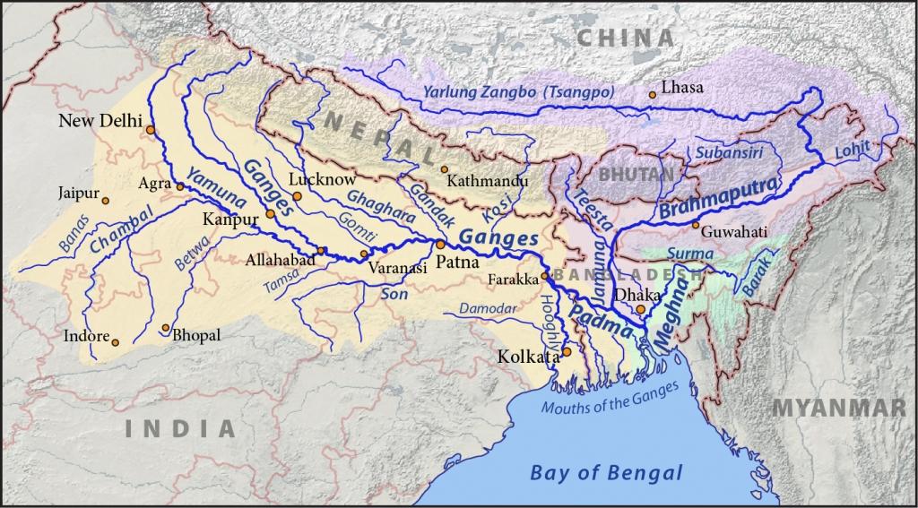 ganges-river-map