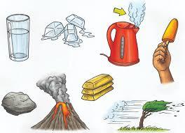 solids-liquids-gases