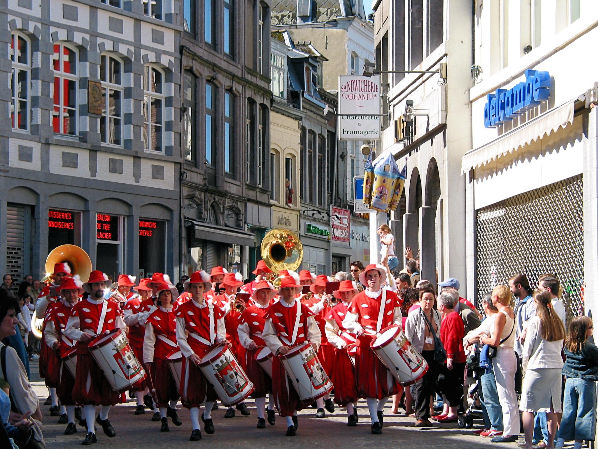 belgium-parade