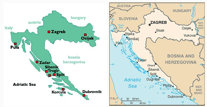 croatia-map