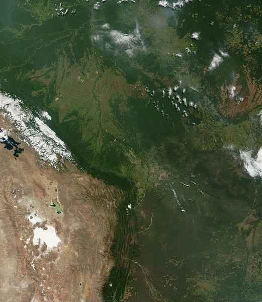 Bolivia Location