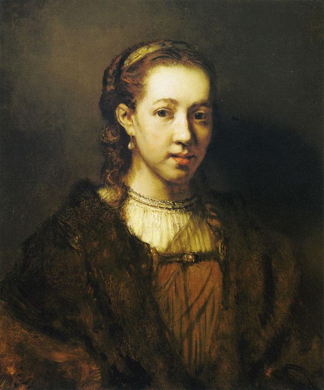 rembrandt-portrait-woman