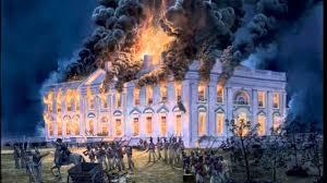 British burn White House