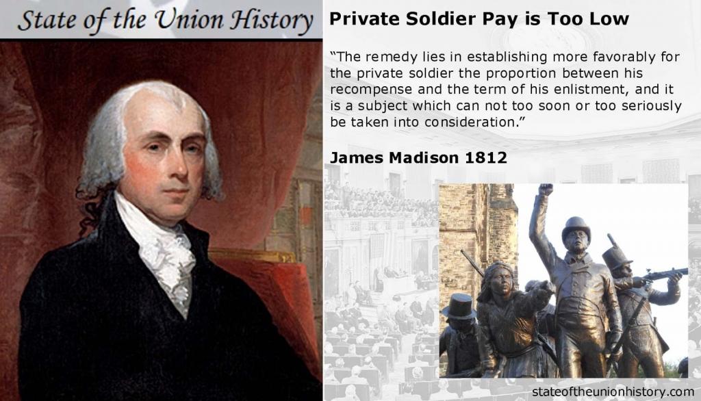 James Madison military