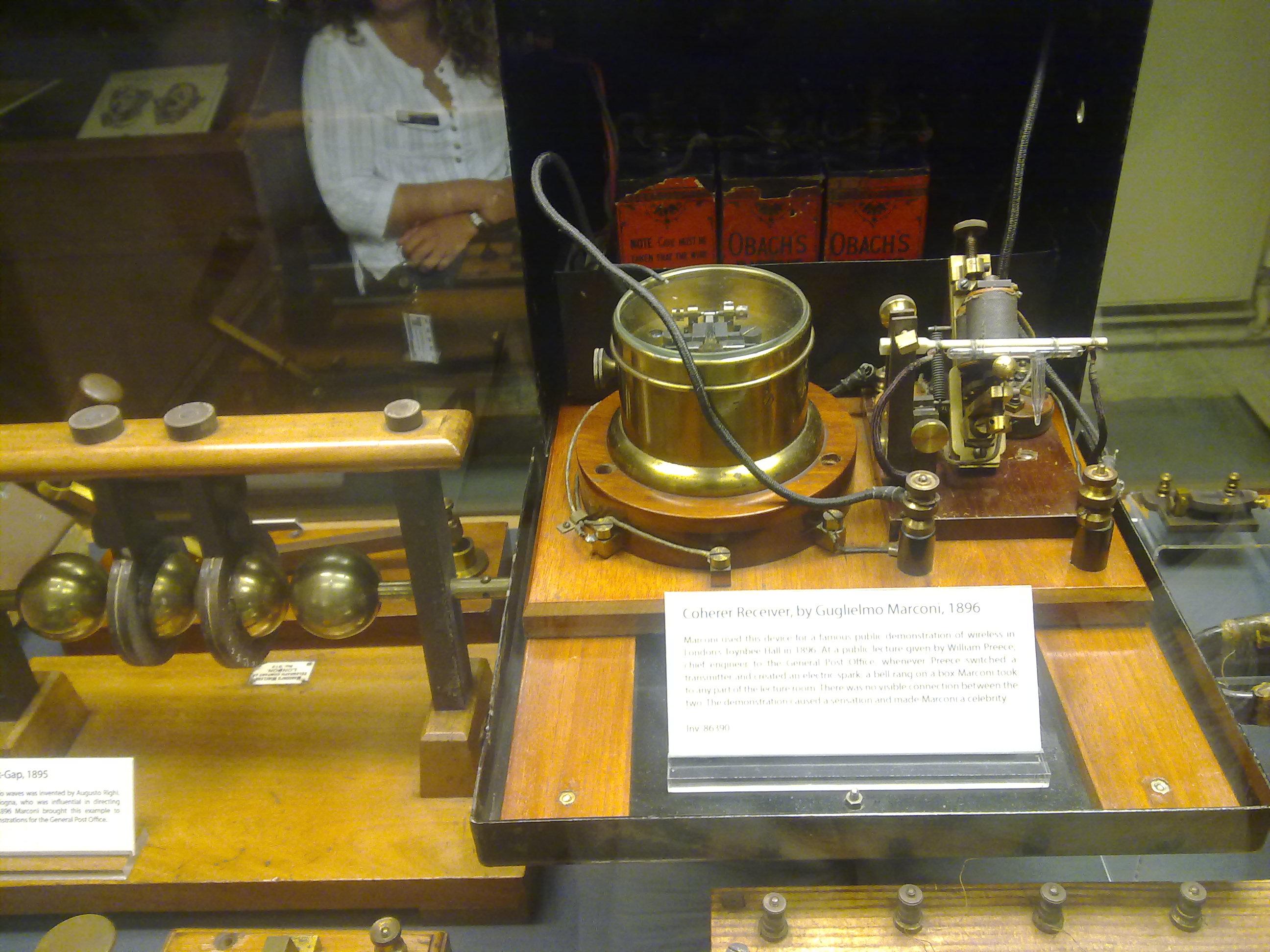 Marconi's receiver