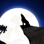 wolf-howling-moon