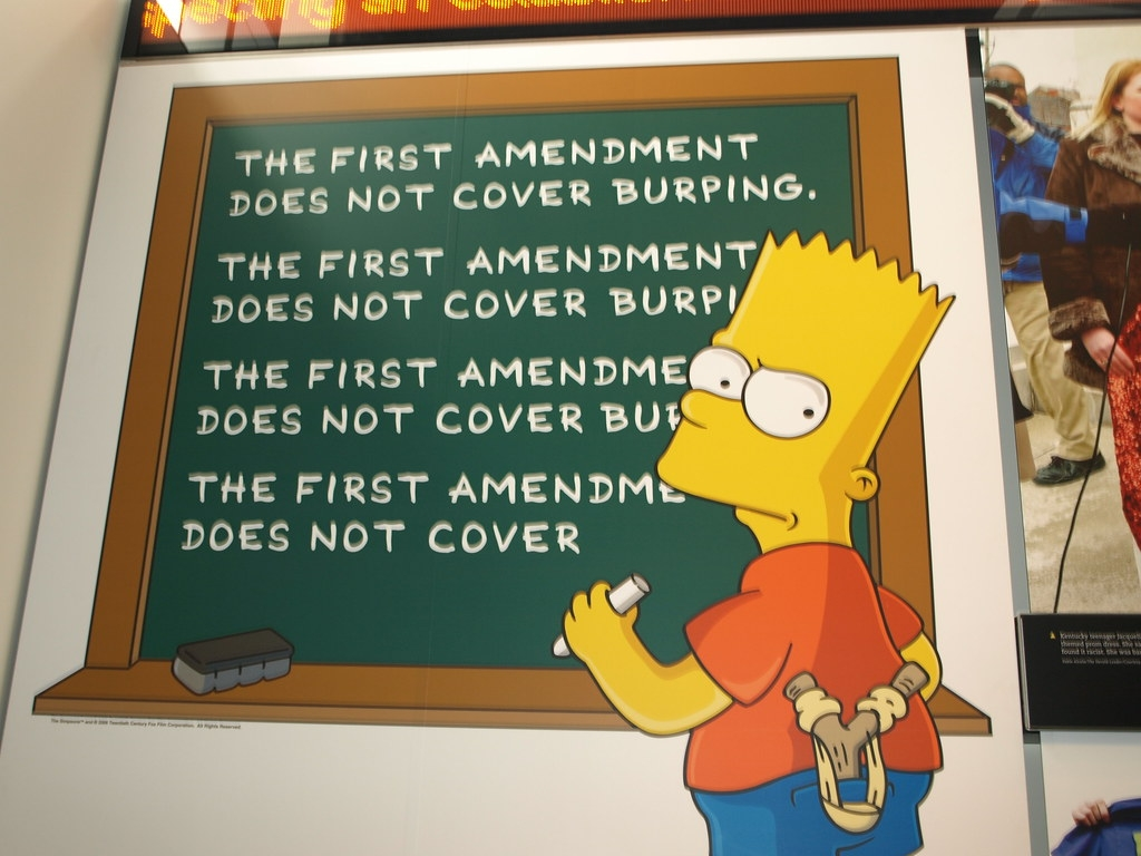 first-amendment-bart-simpson