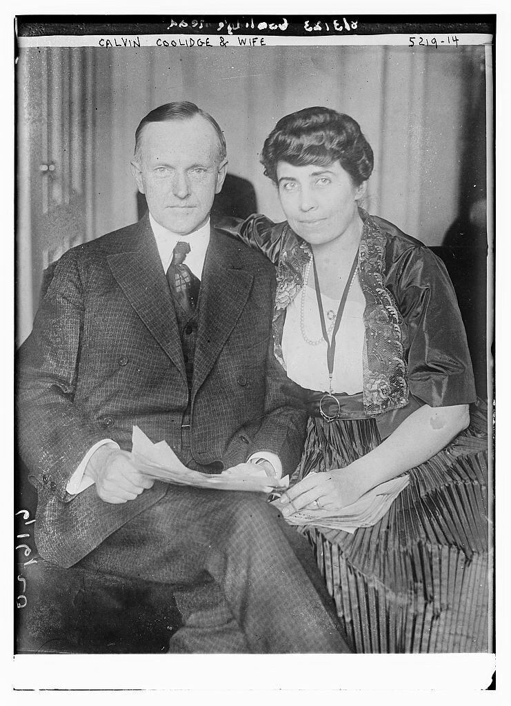 Calvin Coolidge and Grace Anna Goodhue