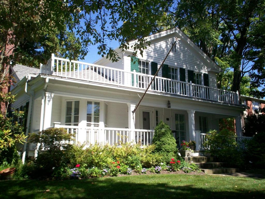 Garfield house Hiram