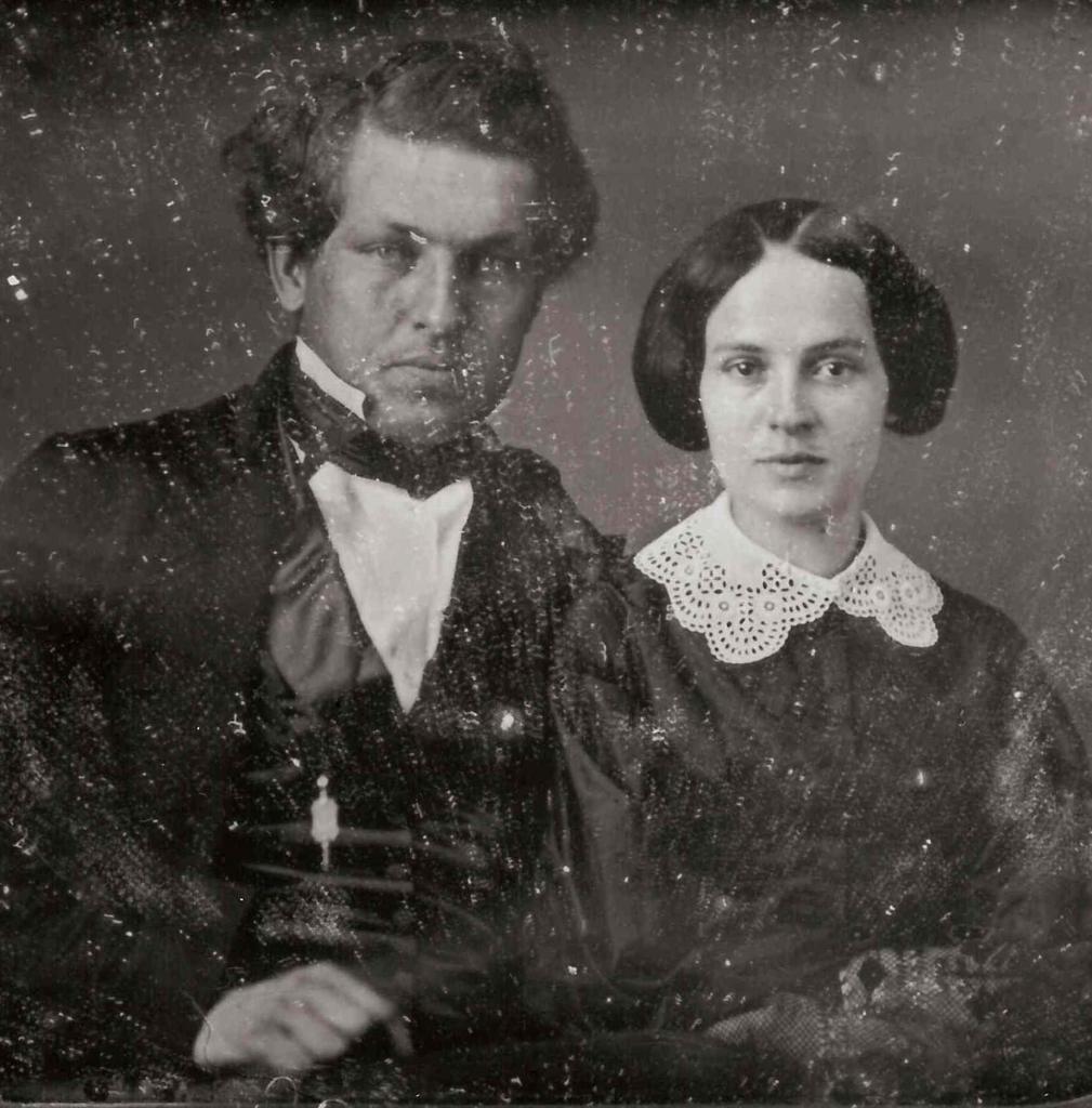 James A. Garfield and Lucretia Rudolph