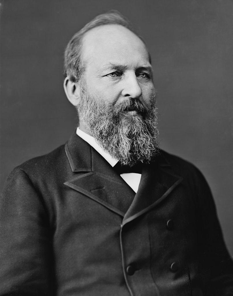 James Garfield portrait