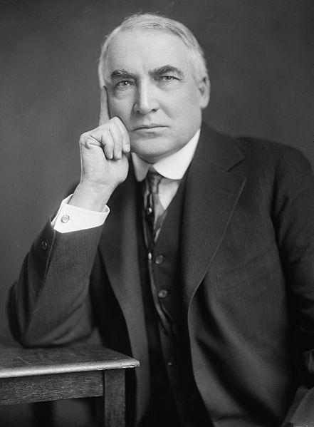 Warren G. Harding bio