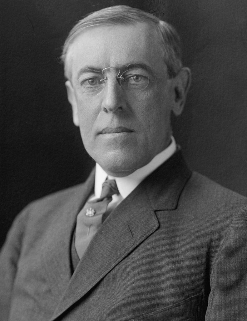 Woodrow Wilson bio