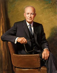 Eisenhower official portrait