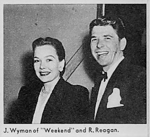 Jane Wyman and Reagan 1946