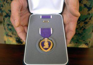 Purple Heart case