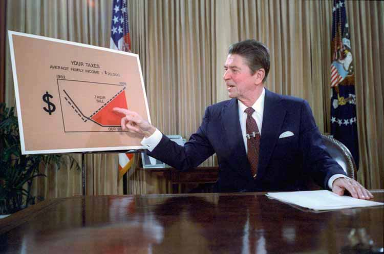 Reagan televised address