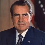Richard Nixon presidential portrait