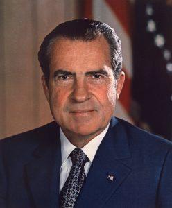 Richard Nixon presidential portrait