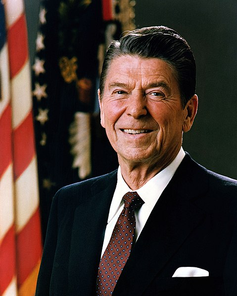 Ronald Reagan official portrait 1981