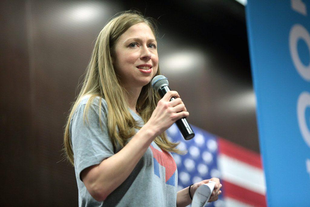 Chelsea Clinton speaking