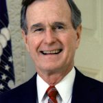 George H.W. Bush portrait