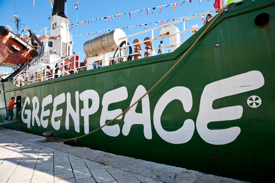 Greenpeace interest group