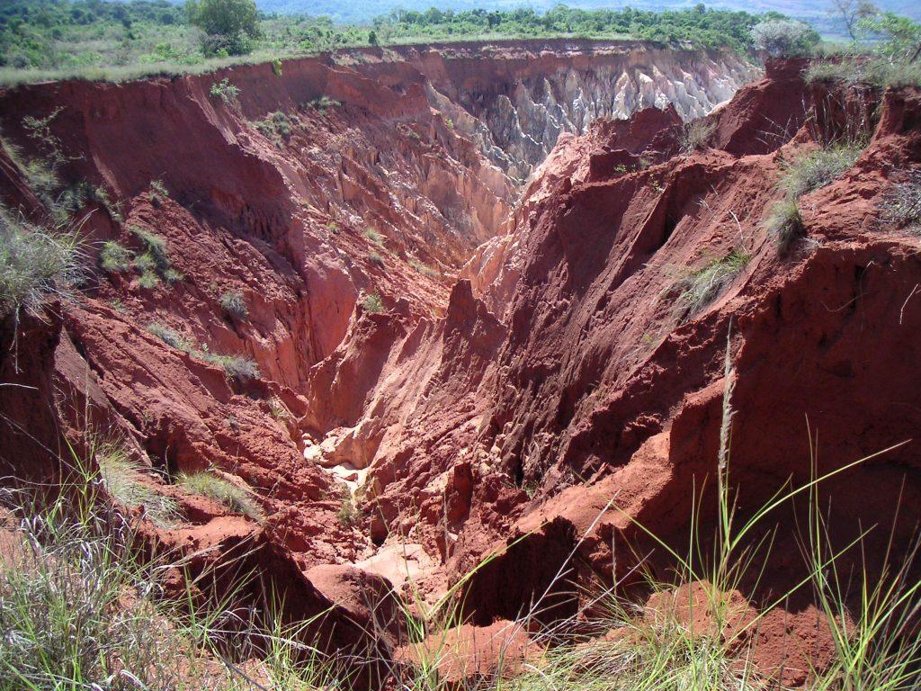 erosion in Madagascar